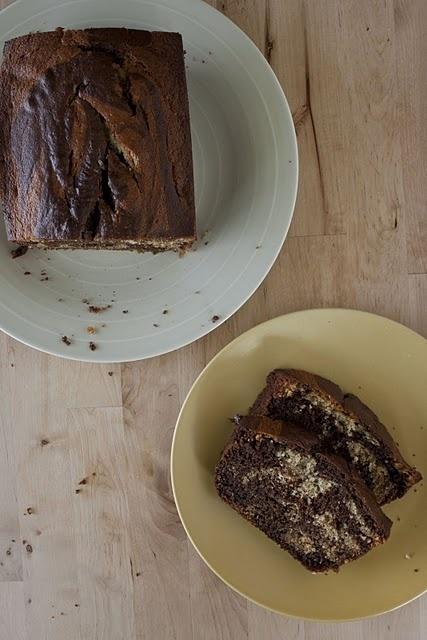 Skinny Chocolate - Caramel Banana Bread Recipe — Dishmaps