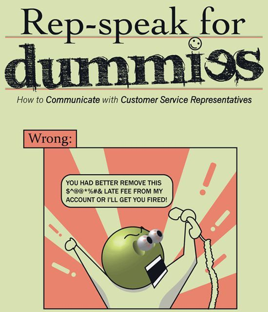 How to communicate with Customer Service Representatives