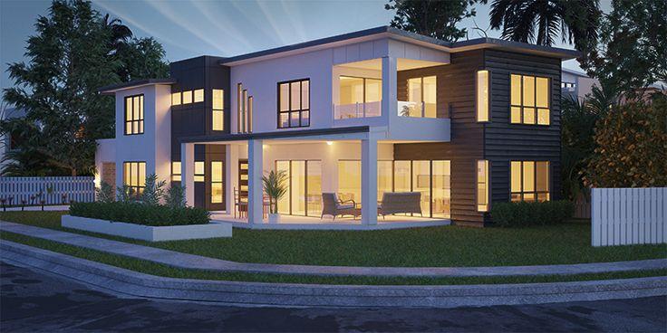 Elphinstone - Two Storey House Floorplan by http://www.buildingbuddy.com.au/two-storey-house-plans/