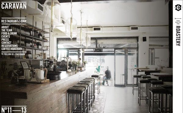 Restaurant Web Designs: 40 Yummy Cafe & Restaurant Websites and Trends    Source: http://designmodo.com/restaurant-web-designs/#ixzz2EJ7eTqHl