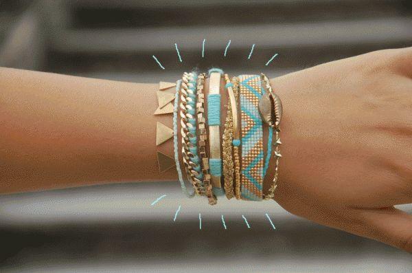 DIY Comment réaliser un large bracelet Hipanema Le Meilleur du DIY