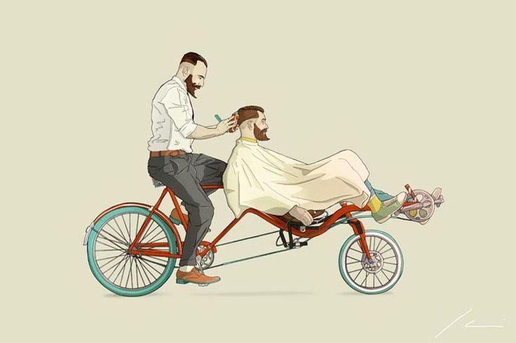 Les étranges concepts de vélos de l'illustrateur Ibai Eizaguirre Sardon (image)