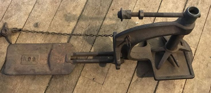 J W Speaker Antique Vulcanizer 1940s Hot Patch Tire Repair Clamping Tool #JWSpeakerCorp