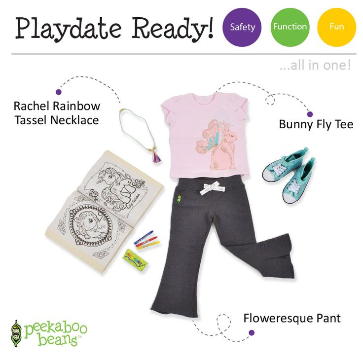 Bunny Fly Tee Bean! | Peekaboo Beans - playwear for kids on the grow! | Contact your local Play Stylist or shop On-Vine at www.peekaboobeans.com | #PBPlayfulPairings