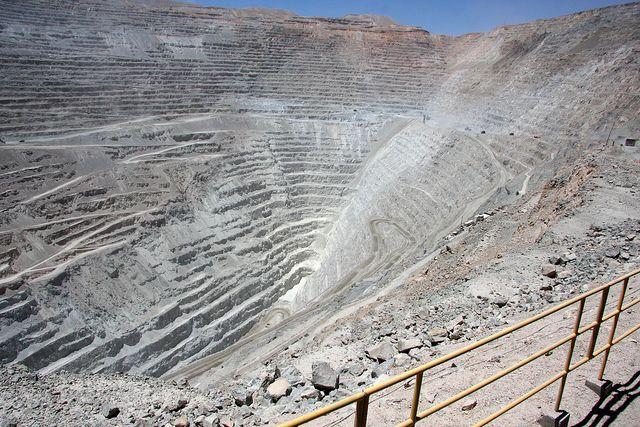 Chuquicamata copper mine, Calama, Chile