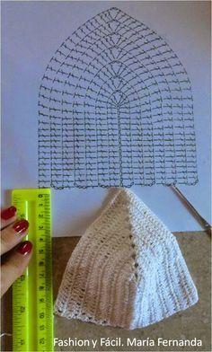 Como tricotar alguns copos para fazer um top para o verão? Tecido de crochê fácil (Como fazer um top de crochê para o verão