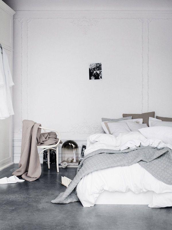 Un letto senza testiera