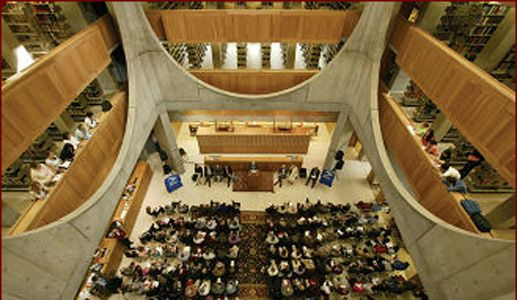 Phillips Exeter Academy Library- Architect: Louis Kahn