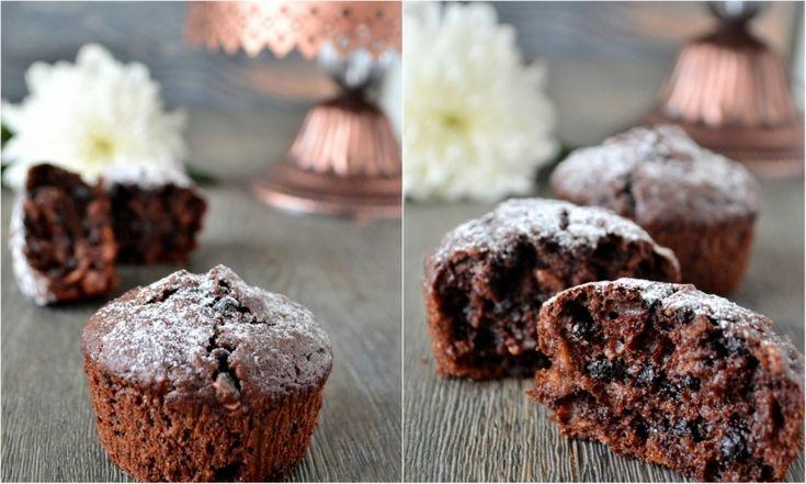 Шоколадно-овсяные кексы