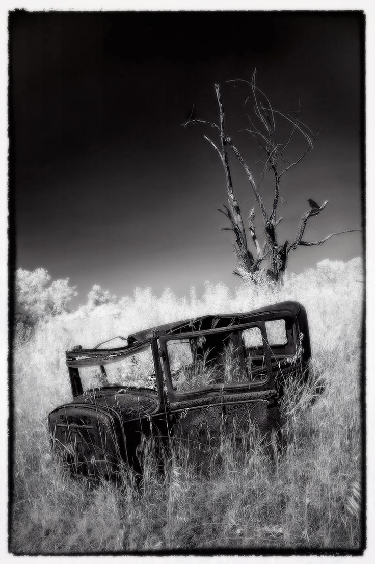 1956 chevy tattoo submited images pic2fly - In An Abandoned Farm Yard Shot In Infrared