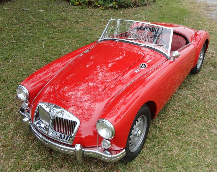 1962 MG A 1600 Mk II DELUXE ROADSTER Vintage Motors of