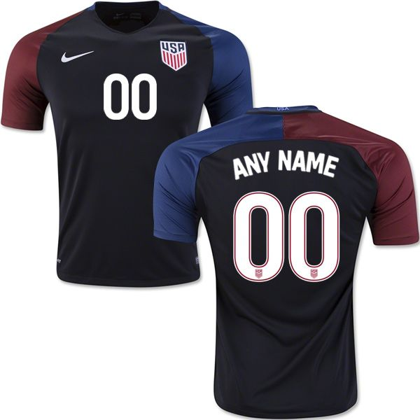 Customized USA National Team Soccer Jerseys in Official USA Team Shop.