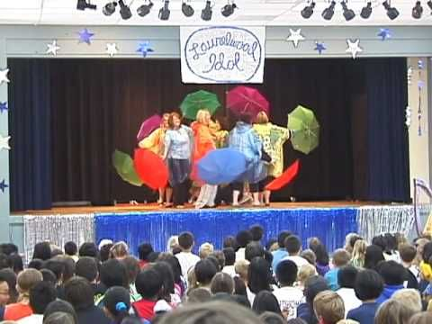 "Laurelwood Idol 2010 talent show- Teachers: ""Umbrella"""