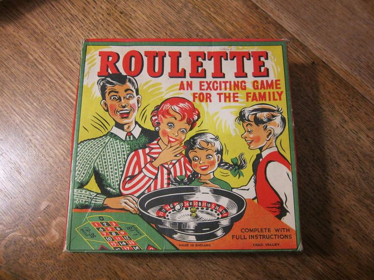 chad valley vintage 1950s roulette wheel with box and layout roulette games pinterest. Black Bedroom Furniture Sets. Home Design Ideas