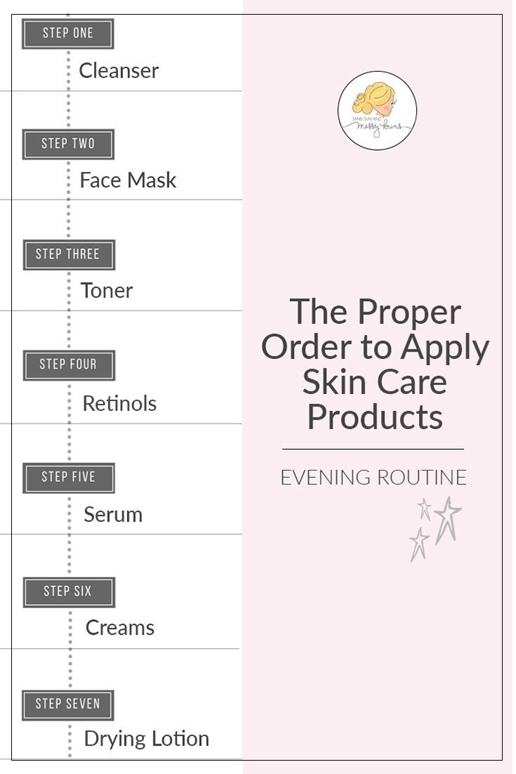 What S The Best Order To Apply Skin Care Products Sand Sun Messy Buns Skin Care Skin Care Routine Skin Care Tips