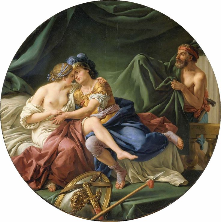 The Athenaeum - Mars and Venus Surprised by Vulcan (Louis Jean François Lagrenée - )