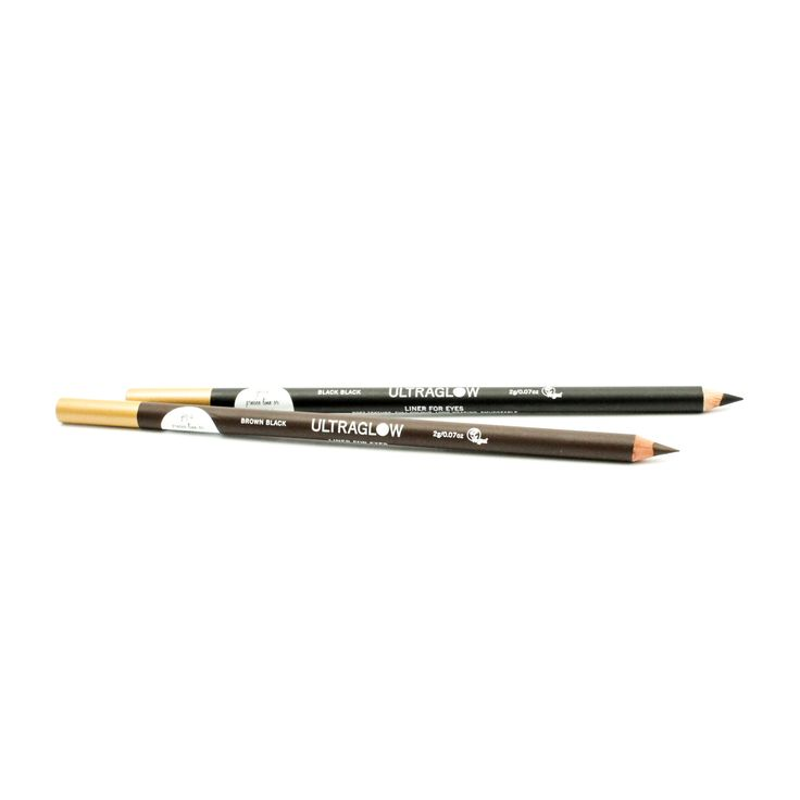 ULTRAGLOW Classic Extra Long Liner Pencil. A full 2g soft colour intense pencil liner for easy application. A richly pigmented formula that glides on smoothly for sharp definition. Soft enough to blend yet hard enough to create clean lines.