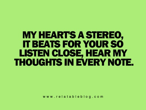 Stereo Hearts - Gym Class Heros One of Raymond's songs that he sings