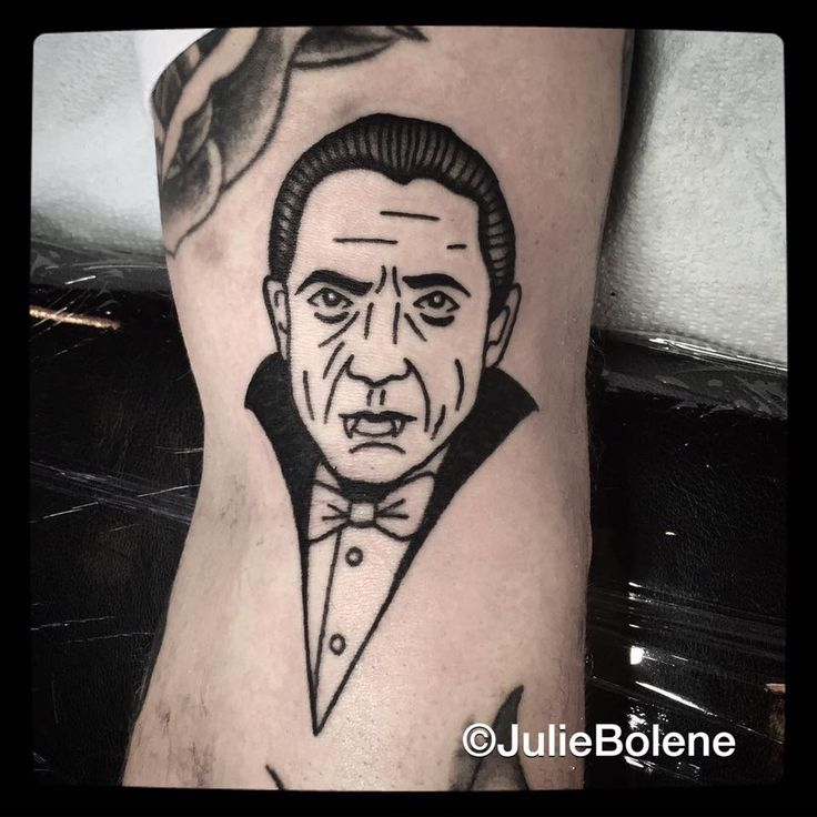 dracula tattoo by Julie bolene