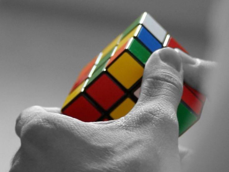Rubic cube by Ernő Rubik