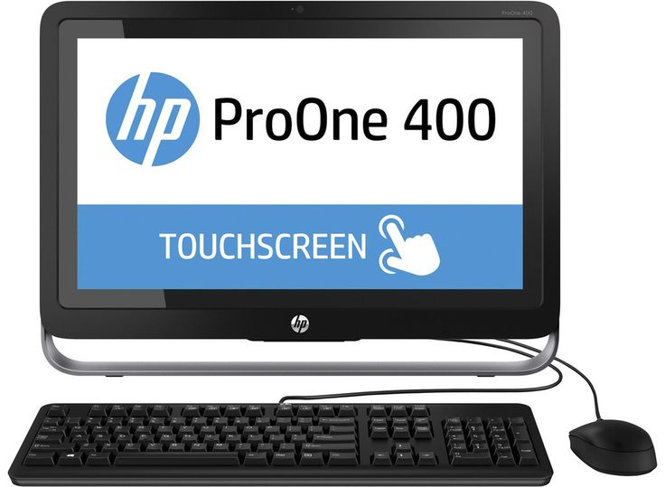"""Refurbished HP Pro One 400 All in One Computer 21.5"""" Intel i3 3.0Ghz Windows 8.1"""