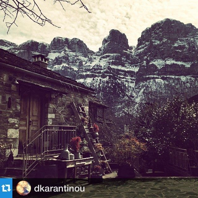 #Repost @dkarantinou with @repostapp.・・・#kalimera #bestview #beautiful #mountains #papigo #sunnyday #sohappy