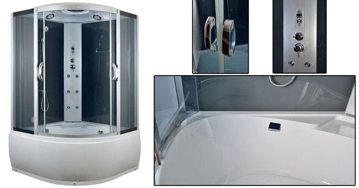 """HALLOTTÁL MÁR A BIG HIDROMASSZÁZS GŐZKABINRÓL? ;) A Big hidromasszázs gőzkabin egy Arttec termék, mely kiváló cseh gyártmányú termék, mint ahogy a neve is mutatja (""""BIG"""") bárki számára kényelmes használatot tesz lehetővé, hiszen igen tekintélyes mérettel rendelkezik ez a kabin. #zuhany #zuhanykabin #hidromasszázszuhanykabin #gőzkabin #hidromasszázsgőzkabin #zuhanykabindepo #arttec"""