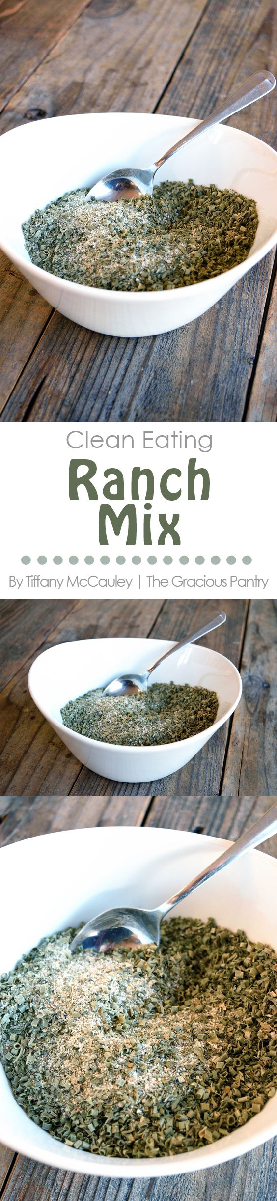 Clean Eating Recipes | Ranch Mix Recipe | Clean Eating Ranch Mix Recipe | Healthy Recipes