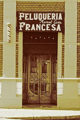 Peluqueria Francesa -  Barrio Yungay. Santiago, Chile