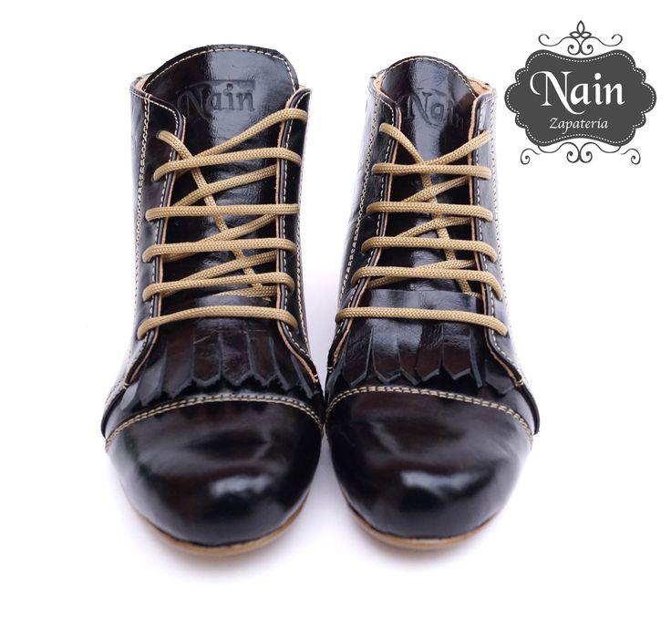 #zapatos #botines #zapatosdecuero #zapatosartesanales #tendencias2014 #charol #diseño #calzados  #calzadosexclusivos