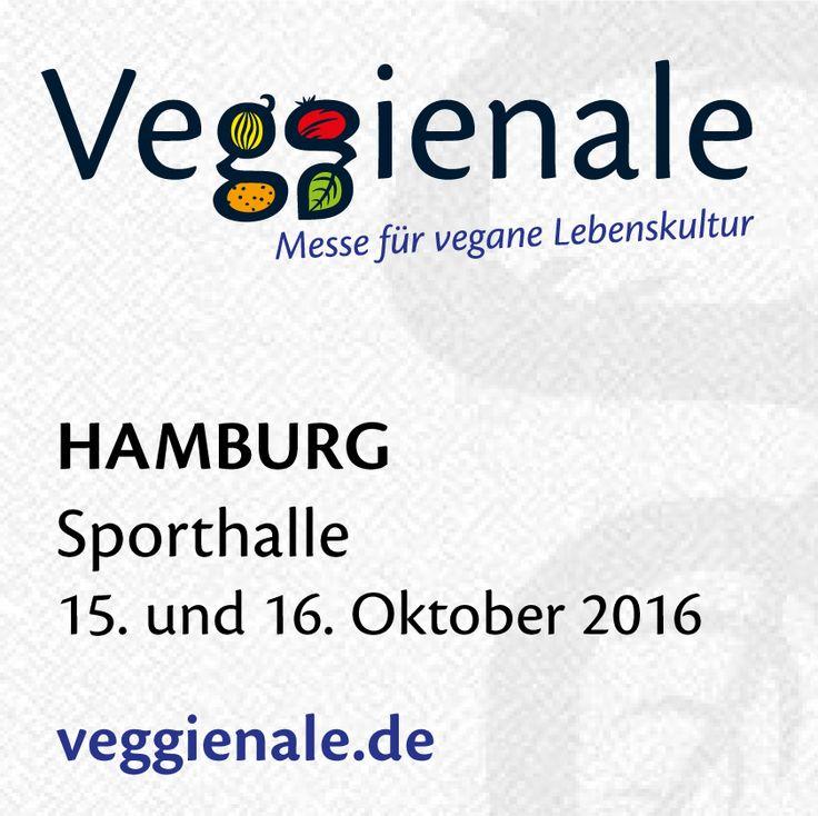 Auf zur Veggienale nach Hamburg. An unserem Stand freuen wir uns Euch auf einen leckeren Smoothie einladen zu dürfen.