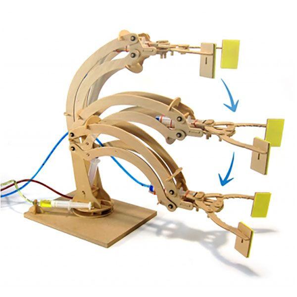 Geek Toys : Hydraulic Fluid Powered Robotic Arm