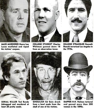 Serial Killer Types | -dahmer-bundy:Profile of a Serial KillerThe average serial killer ...