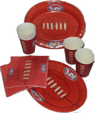 AFL Footy Party Pack