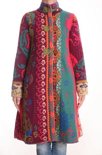 ivko knit jacket натуральный+полуприталенный