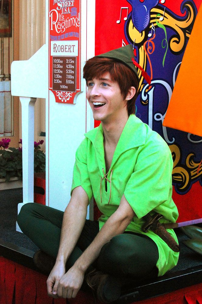 The 'Spieling' Peter Pan @ Disneyland, California