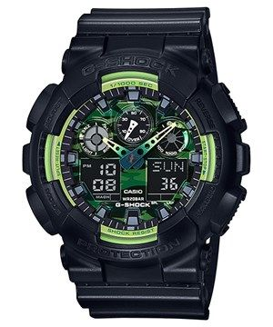Casio G-Shock GA-100LY-1ADR (G669) Special Color Model Watch