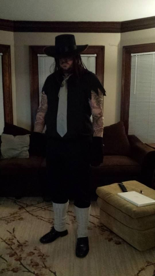 The Undertaker | 22 Amazing Professional Wrestling Halloween Costumes