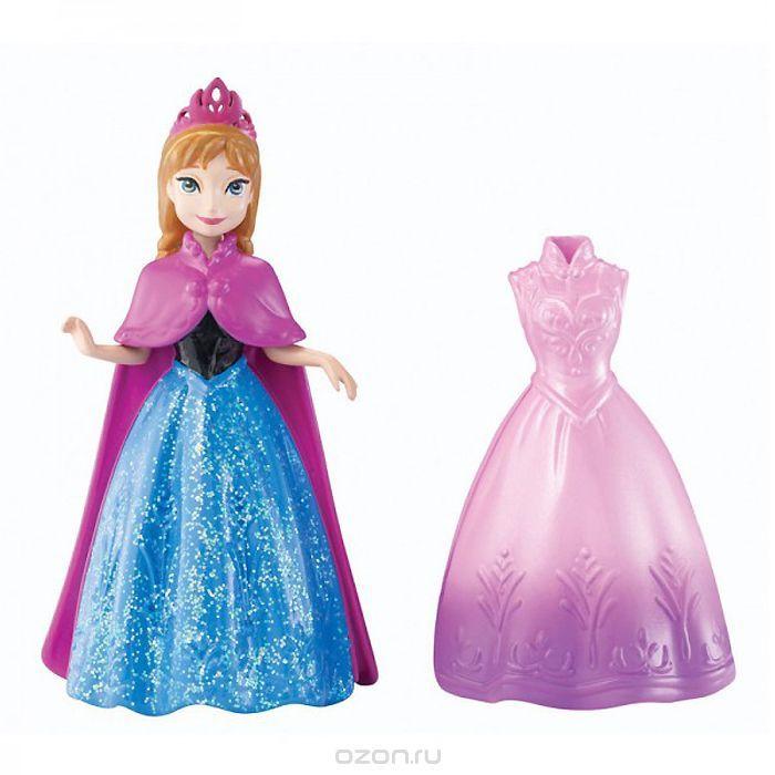 Disney Princess Мини-кукла Принцесса Анна с платьем