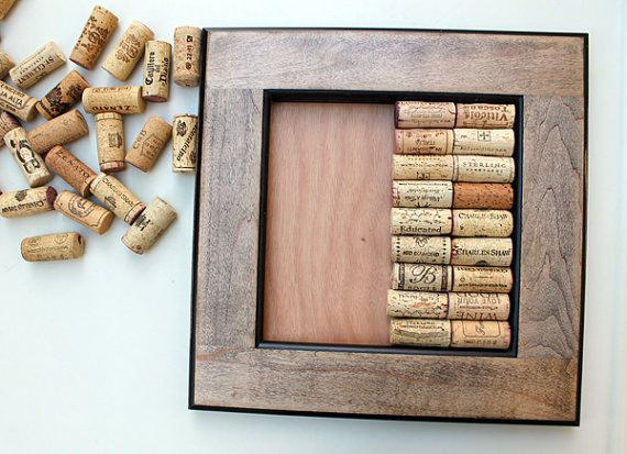 37 best images about repurpose your old cabinet knobs for Crafts made with corks