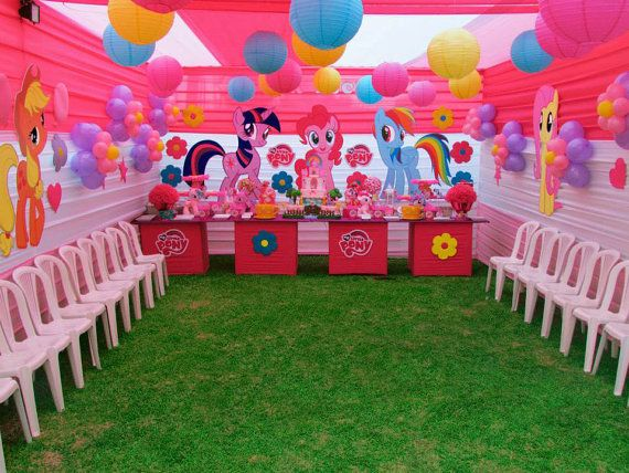 MY LITTLE PONY Party Prop Event Decoration By