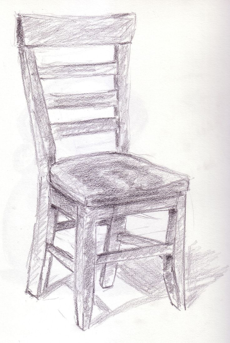 Chair design drawing - Stoel Chair Designrocking