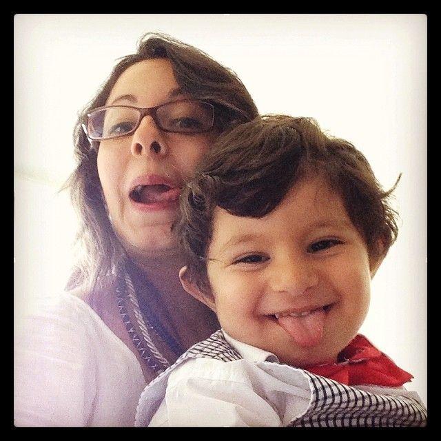 #doğumgünü#selfiesi#henüz#2#yaşında#hayatımın#erkeği :)