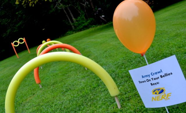 """Photo 12 of 62: Nerf / Birthday """"Ultimate Nerf Party"""" 