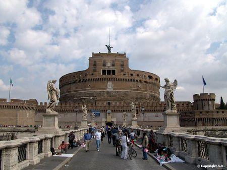 Rome - Chateau Saint Ange