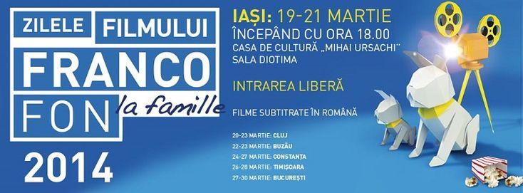Zilele Filmului Francofon/ IASI, 2014