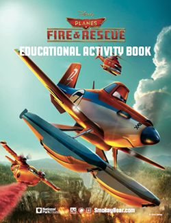 Free Printable Disney Planes: Fire and Rescue Activity Book