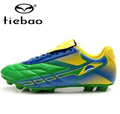TIEBAO soccer boots chuteira de futebol fussball schuhe chaussure foot voetbal schoenen botines futbol hombre fotball boots