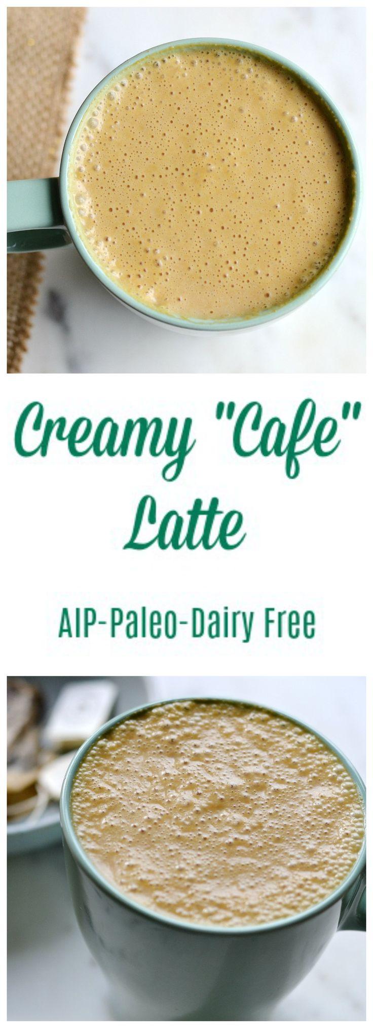 "Creamy ""Cafe"" Latte (AIP/Paleo)   Lichen Paleo, Loving AIP"