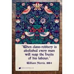 William Morris tea towel